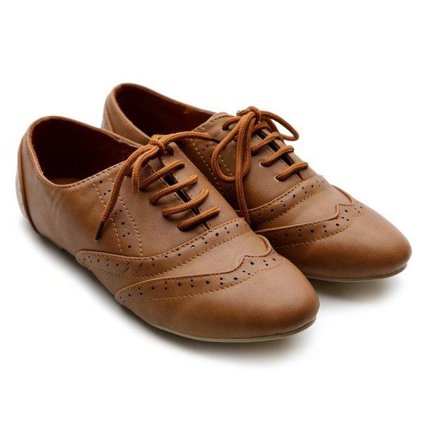 Sapato oxford para o trabalho